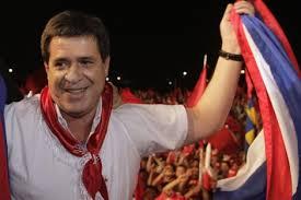 Horacio Cartes, Presidente del Paraguay