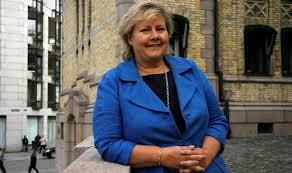 Erna Solberg, leader del partito della Destra