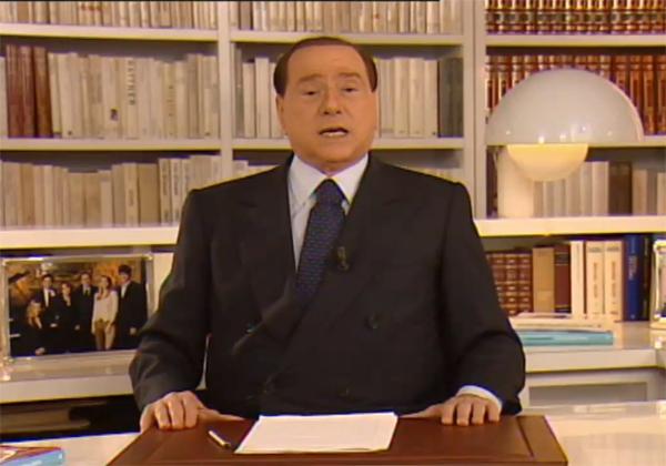 Messaggio Berlusconi