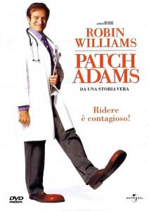 Robin Williams nei panni del dr. Patch Adams