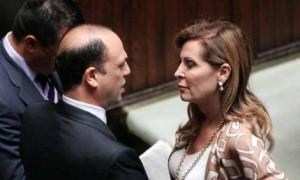 alfano santanche pdl forza italia governo letta