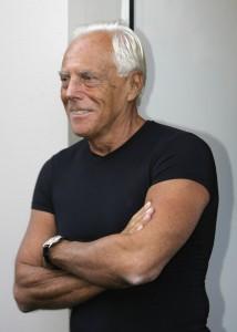 """Giorgio Armani, """"re"""" della moda"""