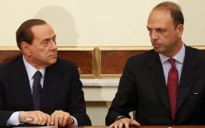 berlusconi alfano crisi governo dimissioni ministri pdl
