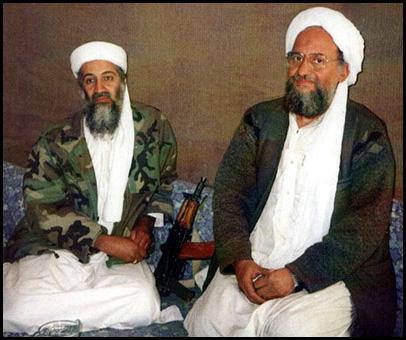 bin laden Al Quaeda e Al Zawahiri