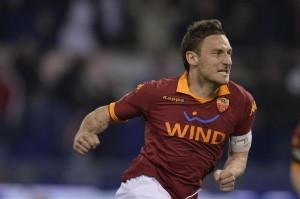 Il capitano Francesco Totti