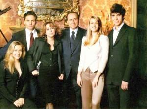 famiglia silvio berlusconi