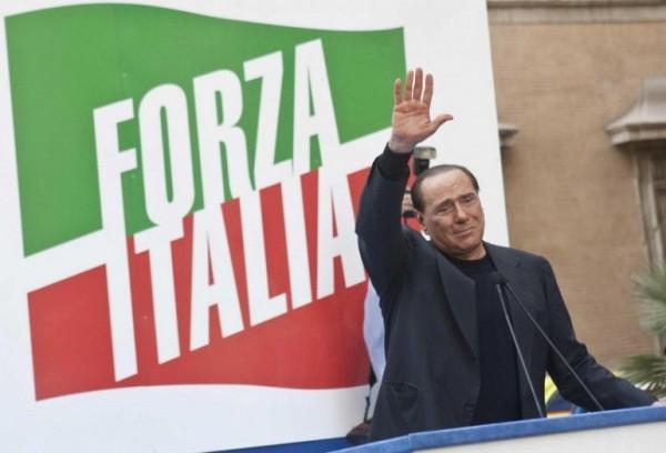 silvio berlusconi, forza italia, centrodestra