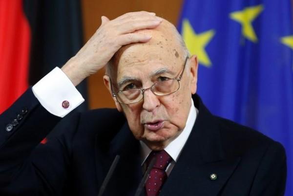 giorgio napolitano fatto politico inquietante
