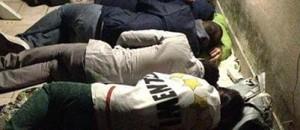 protesta dormono su tetto camera deputati 5 stelle