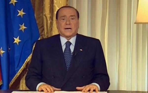 videomessaggio berlusconi pdl forza italia governo letta ministri alfano bertolaso