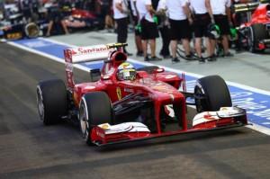 La Ferrari di Alonso