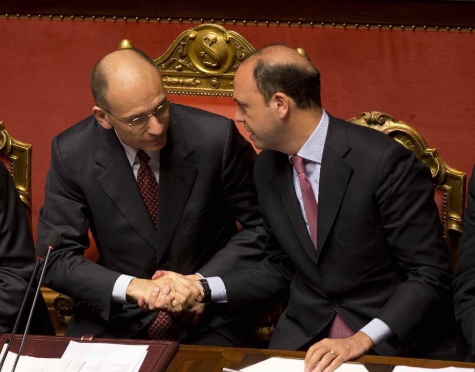 Palazzo Chigi secondo Letta, Renzi, Alfano e Berlusconi
