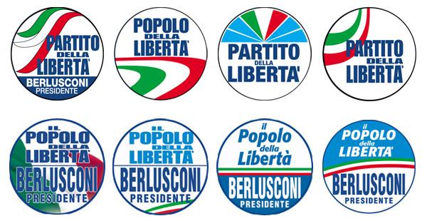 Forza Italia bozzetti Pdl