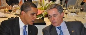 Obama e Uribe