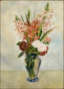 Renoir - Gladioli (1885)