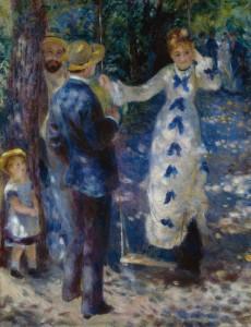 Renoir - L'altalena (1876)