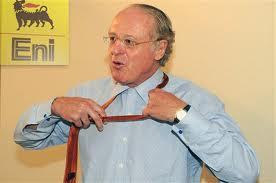 Paolo Scaroni, amministratore delegato di Eni