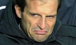 Massimiliano Allegri, sempre meno amato dai tifosi
