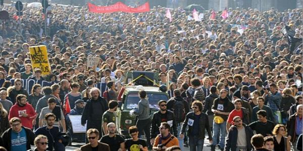 manifestazioni roma