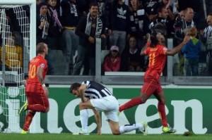 L'esultanza di Didier Drogba