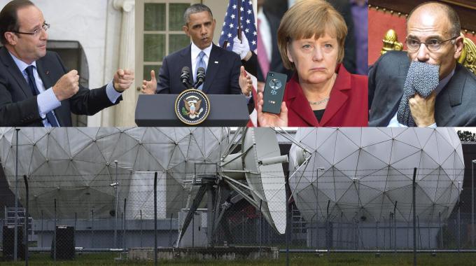europa datagate intercettazioni nsa letta hollande merkel obama