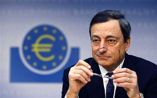 quantitative easing, draghi