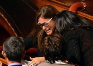 paola de pin ex m5s vota la fiducia al governo letta senato