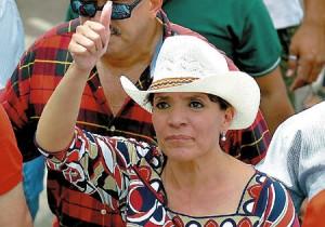 Castro de Zelaya, candidata progressista alla presidenza