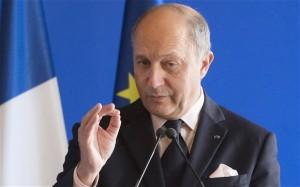 Laurent Fabius, ministro degli Esteri francese