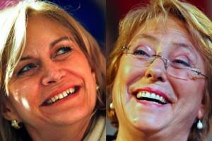 Matthei e Bachelet