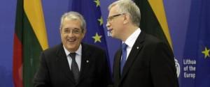 Saccomanni e Rehn