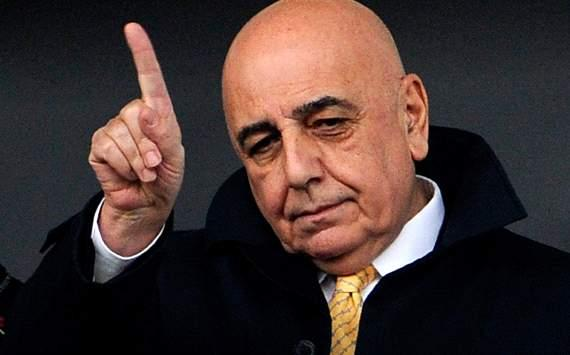 Galliani saluta il Milan