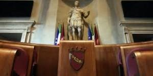 L'aula Giulio Cesare in Campidoglio