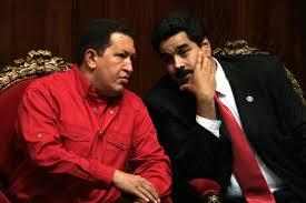 Maduro con il predecessore, Hugo Chavez