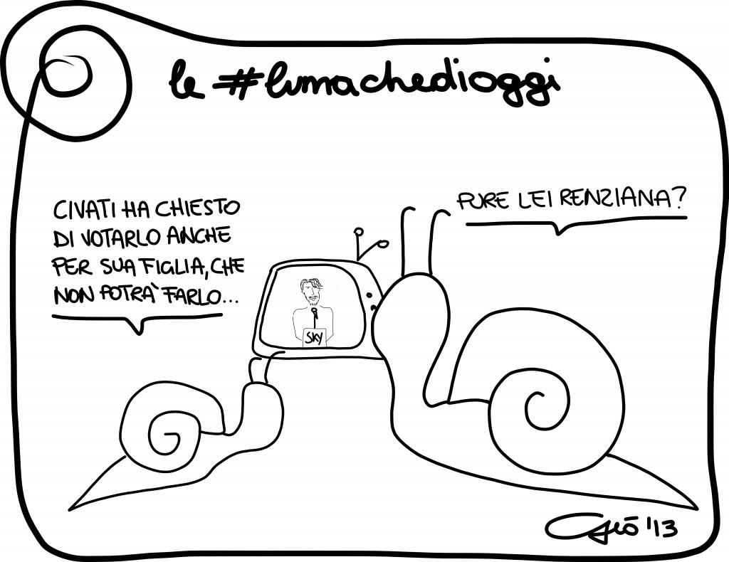#lumachedioggi di Giovanni Laccetti del 30.11.2013