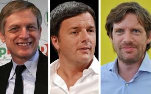 Primarie Pd, confronto tv tra i candidati segretari in diretta