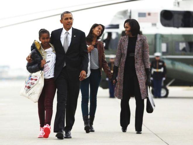 """Intervista alla famiglia Obama, """"Presto una donna presidente Usa"""""""