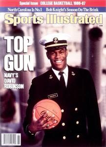 L'ammiraglio David Robinson