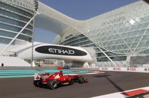 Il moderno circuito di Abu Dhabi
