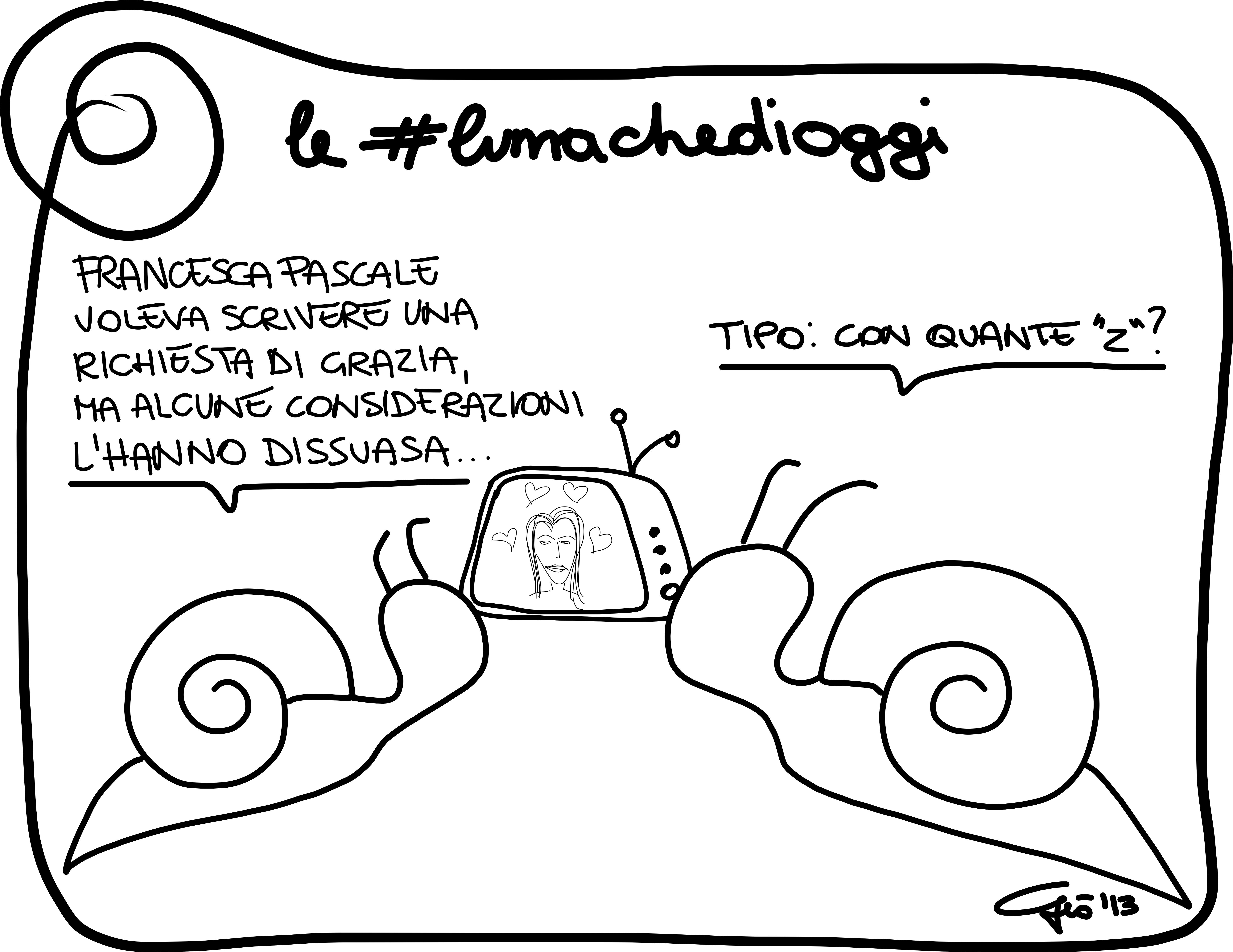 #lumachedioggi di Giovanni Laccetti del 29.11.2013