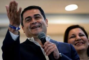 Hernandez, candidato alla Presidenza per il Partido Nacional