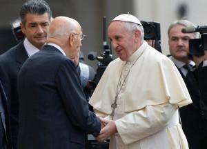 incontro papa francesco al quirinale