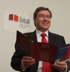 Enrico Giovannini, ex presidente dell'Istat e oggi ministro del Lavoro