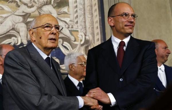 Napolitano Letta decreto salva-roma