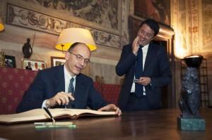 finito il governo di larghe intese Renzi