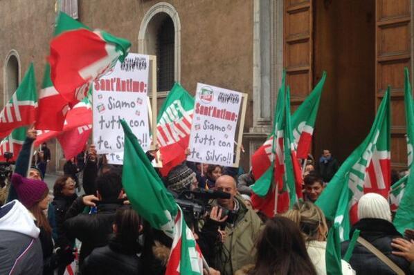 manifestazione forza italia