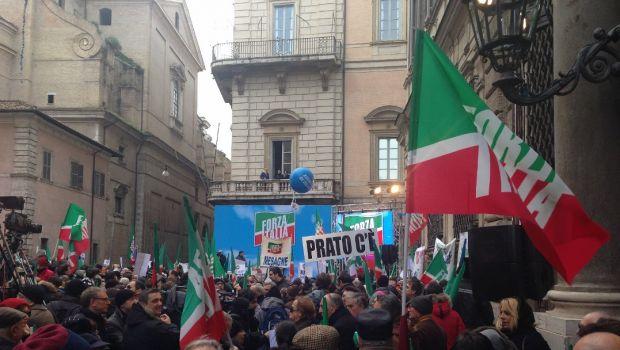manifestazioni forza italia