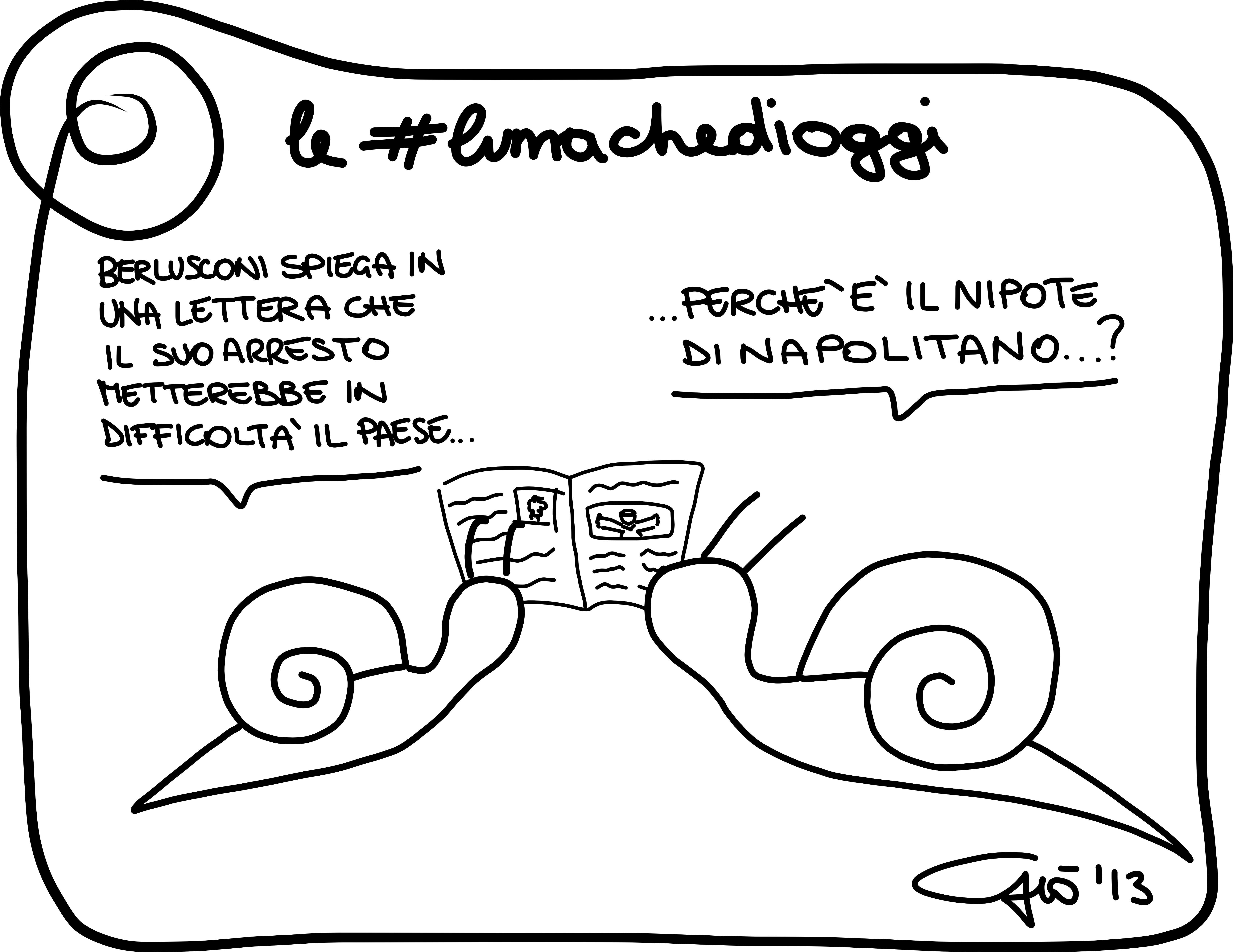 #lumachedioggi di Giovanni Laccetti del 26.11.2013