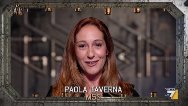 """Capogruppo M5S, Paola Taverna """"Berlusconi statua di cera, un giorno gli sputo"""""""