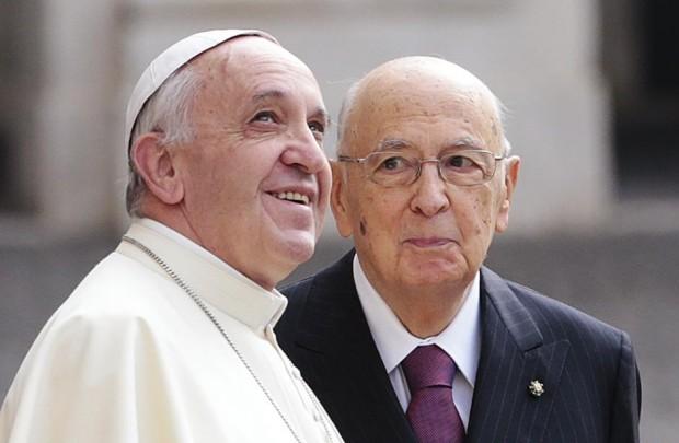 papa francesco al quirinale